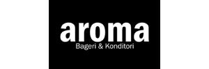 GW Galleria, Aroma logo, kauppakeskus Vaasa